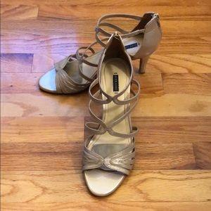 Low Shimmery Heels